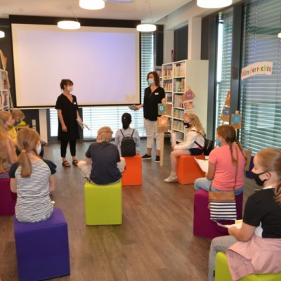 Spannender Workshop in der Stadtbibliothek